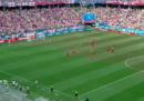 Forse i giocatori di Panama hanno creduto a una notizia falsa