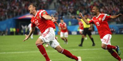 Russia show, battuto anche l'Egitto