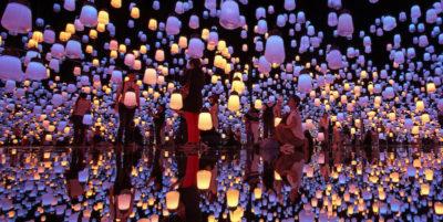 Le foto del museo di arte digitale di Tokyo