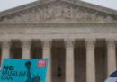"""La Corte Suprema ha dato ragione a Trump sul """"travel ban"""""""