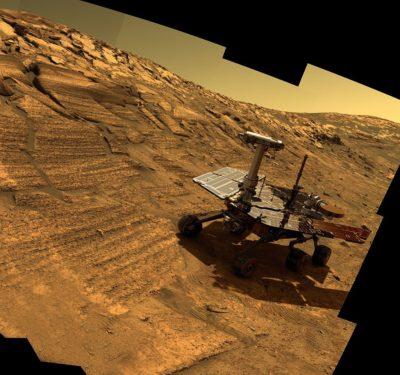 Una gigantesca tempesta su Marte sta mettendo a dura prova il rover Opportunity della NASA