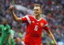 La Russia ha battuto 5-0 l'Arabia Saudita nella prima partita dei Mondiali 2018