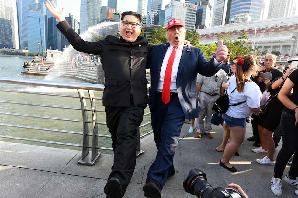 Un successo l'incontro Trump-Kim a Singapore.