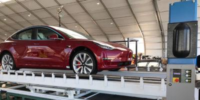 Il futuro di Tesla dipende da una tenda