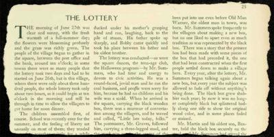 70 anni fa il New Yorker pubblicò un inquietante racconto che alcuni presero per vero