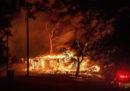 Di nuovo degli incendi in California