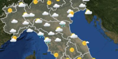 Le previsioni meteo per giovedì 12 luglio