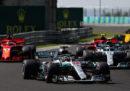 L'ordine di arrivo del Gran Premio di Ungheria di Formula 1