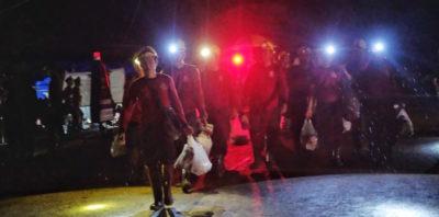 Sono stati estratti quattro ragazzi dalla grotta in Thailandia