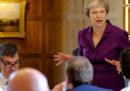 Il governo britannico ha approvato la sua posizione definitiva su Brexit