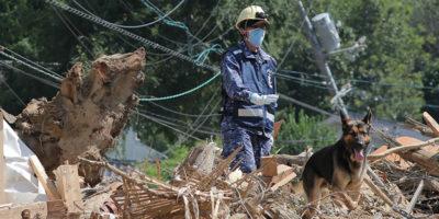 I morti nelle alluvioni in Giappone sono 199