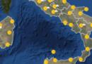 Le previsioni meteo per lunedì 9 luglio