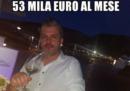 Il post di Matteo Renzi sul suo falso fratello