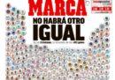 La prima pagina di Marca su Cristiano Ronaldo