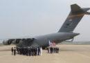 La Corea del Nord ha restituito i resti di quelli che dice essere 55 soldati statunitensi uccisi nella guerra di Corea