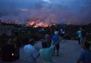I grandi incendi intorno ad Atene