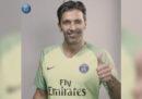 La presentazione di Buffon al Paris Saint-Germain, in diretta