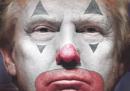 La prima pagina del Daily News con Trump truccato da clown