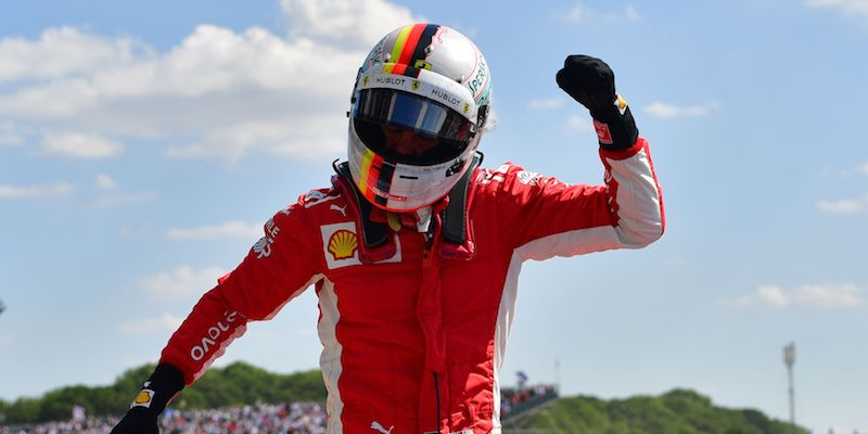 F1, gioia Ferrari a Silverstone: vince Vettel e Raikkonen è terzo