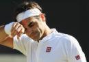 Il tennista Roger Federer è stato eliminato dal torneo di Wimbledon