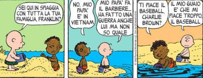 La storia di Franklin, il primo personaggio nero dei Peanuts