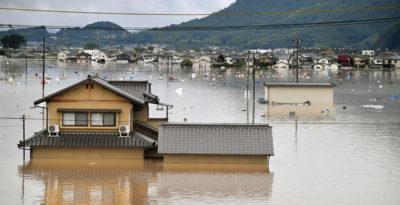 Morti e sfollati. Il maltempo investe il Giappone