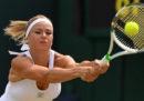 La tennista italiana Camila Giorgi si è qualificata ai quarti di finale di Wimbledon