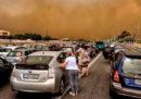 Il giorno dopo gli incendi in Grecia