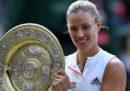 Angelique Kerber ha vinto Wimbledon