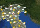 Le previsioni del tempo per mercoledì 4 luglio