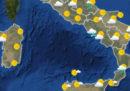 Le previsioni meteo per domani, martedì 17 luglio