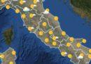 Le previsioni meteo per martedì 24 luglio