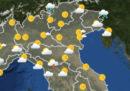 Le previsioni meteo per giovedì 26 luglio
