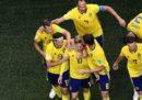 La Svezia si è qualificata ai quarti di finale dei Mondiali di calcio