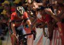 Vincenzo Nibali si è ritirato dal Tour de France dopo la caduta nella tappa di giovedì