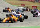 L'ordine di arrivo del Gran Premio di Germania di Formula 1
