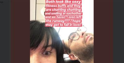 Storia di un flirt raccontato in diretta