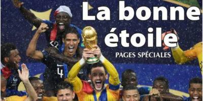 Le prime pagine dei giornali francesi