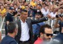La presentazione di Cristiano Ronaldo alla Juventus in diretta streaming