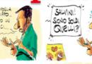 La nuova copertina dell'Espresso, disegnata da Makkox e con dentro Salvini