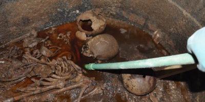 È stato aperto il sarcofago trovato ad Alessandria d'Egitto