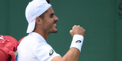 Thomas Fabbiano ha eliminato lo svizzero Stan Wawrinka nel secondo turno di Wimbledon
