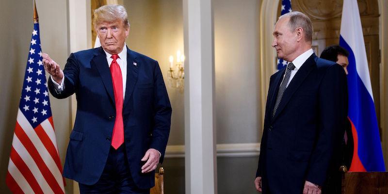 Risultati immagini per Incontro Putin-Trump a Helsinki