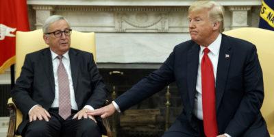 Trump e Juncker hanno trovato un accordo sui dazi