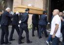 Le foto dei funerali di Carlo Vanzina