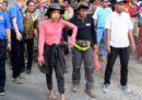 I 560 escursionisti bloccati sul vulcano Rinjani, in Indonesia, sono stati aiutati ad andarsene
