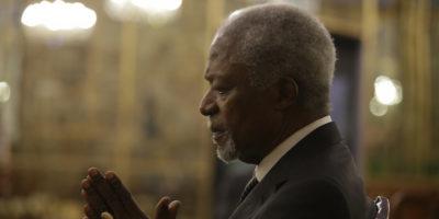È morto Kofi Annan