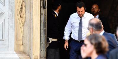 Salvini è indagato per il caso Diciotti