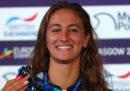 Simona Quadarella ha vinto l'oro negli 800 metri stile libero ai campionati europei