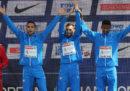 L'Italia ha vinto la medaglia d'oro nella maratona a squadre maschile agli Europei di atletica